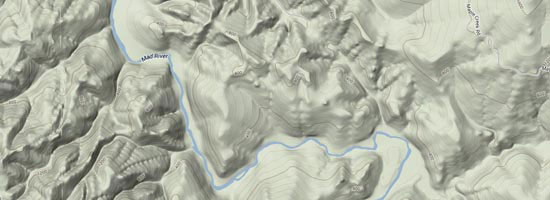 Mad River Map